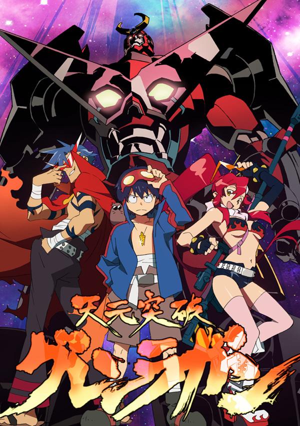 Semana do anime Tengentoppagurrenlagann