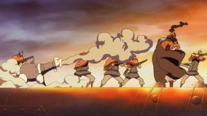 Tenho certeza que foi o canhão que comeu a Akuma no Mi e virou essa ovelha.