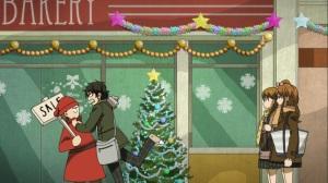 Sério que você está com ciúmes de um cara vestido de Papai Noel?