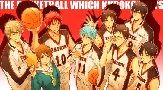 Kuroko no Basket foi o mangá de esporte mais mencionado.