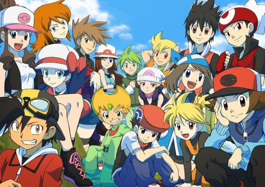 Pokemon Adventure é o mangá baseado em franquias de jogos mais mencionado.