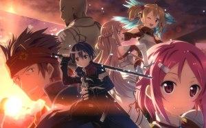 O mundo de romances e fantasia de Sword Art Online...