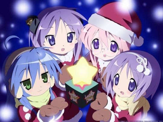 Desejo a todos os visitantes e parceiros do Anime Portfolio um feliz natal!