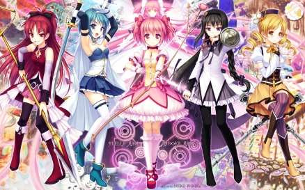 O anime que mudou a maneira de se fazer Mahou Shoujo.