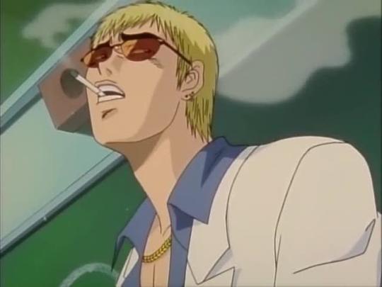 Onizuka Eikichi de GTO. O professor mais maneiro dos animes e mangás!