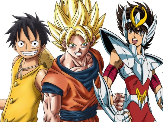 Dragon_Ball_z___One_piece___Luffy___Sangoku___goku