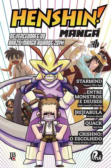 Setembro é mês de coletânea nacional de mangá...