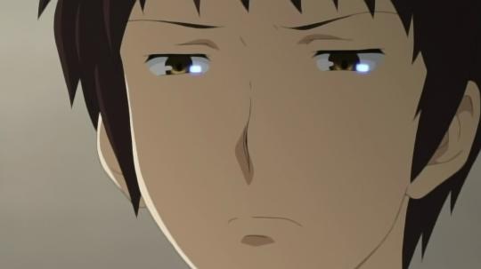 kyon-is-unimpressed