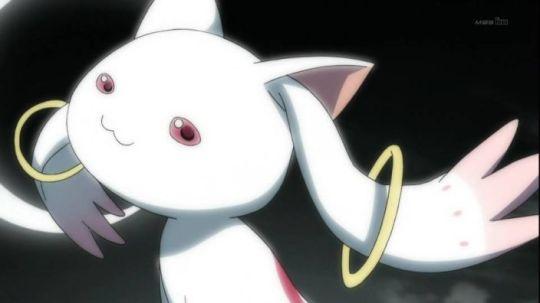 O Aiscrim acha que o Kyubey é bom e você? Clique na imagem, veja a opinião dele e apresente a sua.