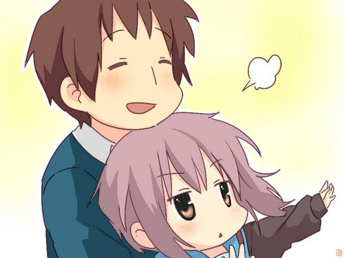 Que imagem é essa? ... a Haruhi está desmaiando... e agora a Nagato não está se mexendo... O que  está acontecendo?