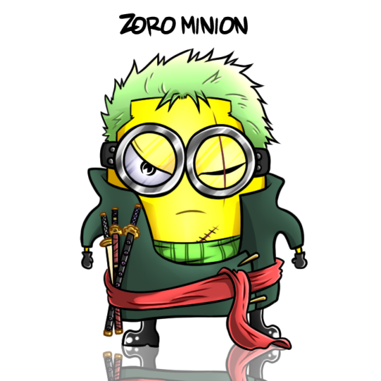 Badass Anime Minions 1
