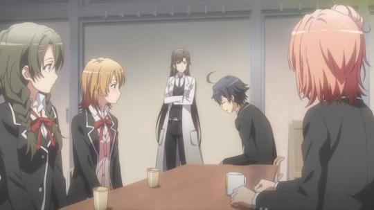 Eu vejo esse anime e eu só penso como dávamos importância demais para coisas tão pequenas na nossa adolescência.