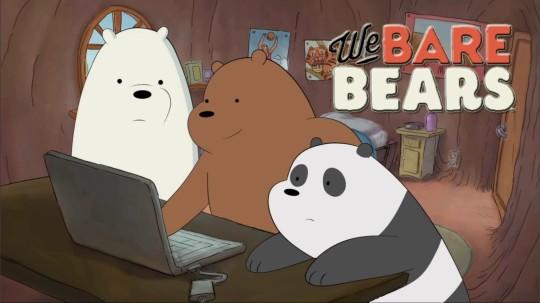 Ice Bear é meu preferido!